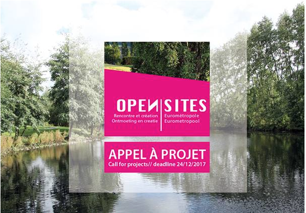 Appel à projets commun OPEN SITES (Entre - Lacs // Spoeren)